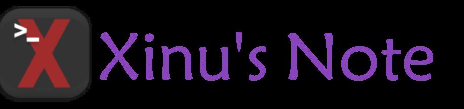 Xinu's Note